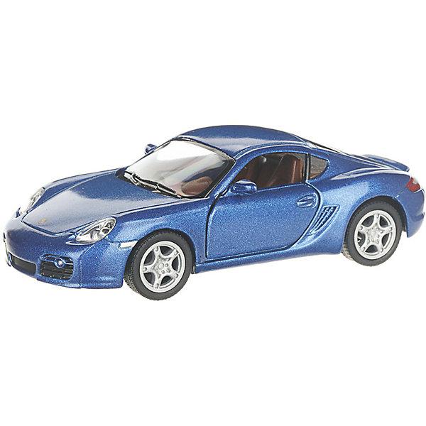 Купить Коллекционная машинка Serinity Toys Porsche Cayman, синяя, Гонконг, Унисекс