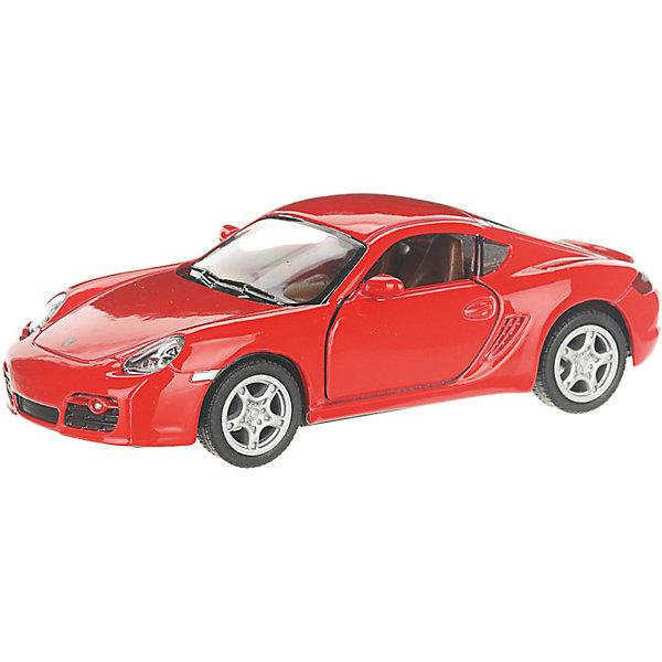 Serinity Toys Коллекционная машинка Porsche Cayman, красная
