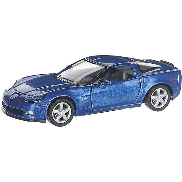 Купить Коллекционная машинка Serinity Toys Chevrolet Corvette Z06, синяя, Гонконг, Унисекс