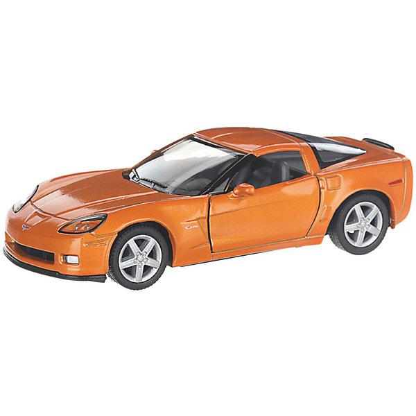 Фото - Serinity Toys Коллекционная машинка Serinity Toys Chevrolet Corvette Z06, оранжевая serinity toys коллекционная машинка serinity toys 1963 chevrolet corvette sting ray красная