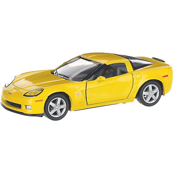 Фото - Serinity Toys Коллекционная машинка Serinity Toys Chevrolet Corvette Z06, жёлтая serinity toys коллекционная машинка serinity toys 1963 chevrolet corvette sting ray красная