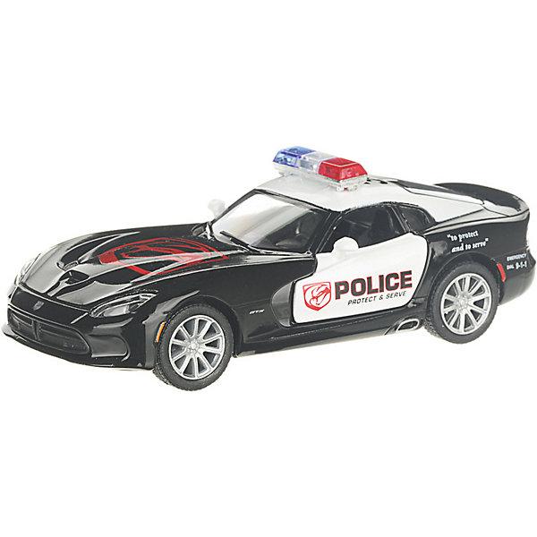 Serinity Toys Коллекционная машинка Serinity Toys 2013 Dodge SRT Viper GTS Полиция, чёрно-белая serinity toys коллекционная машинка serinity toys 2010 porsche 911 gt3 rs полиция чёрно белая