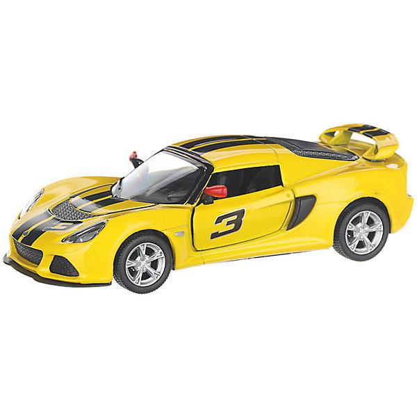 Serinity Toys Коллекционная машинка 2012 Lotus Exige S, жёлтая
