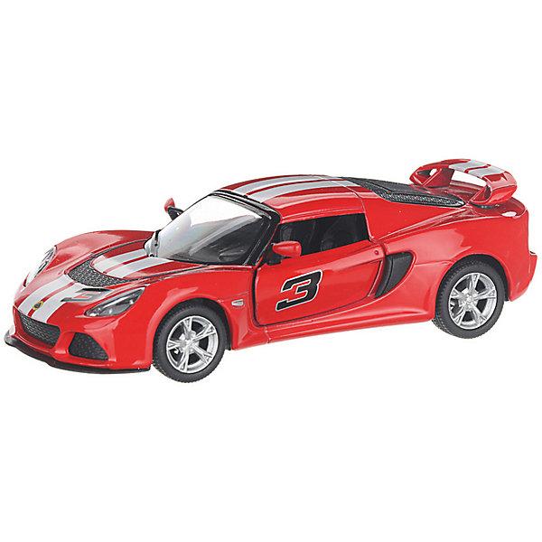 Serinity Toys Коллекционная машинка 2012 Lotus Exige S, красная