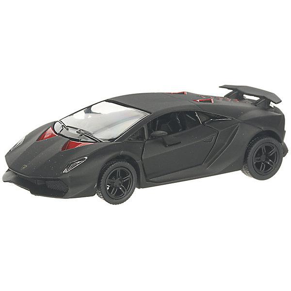 Serinity Toys Коллекционная машинка Lamborghini Sesto Elemento, чёрная