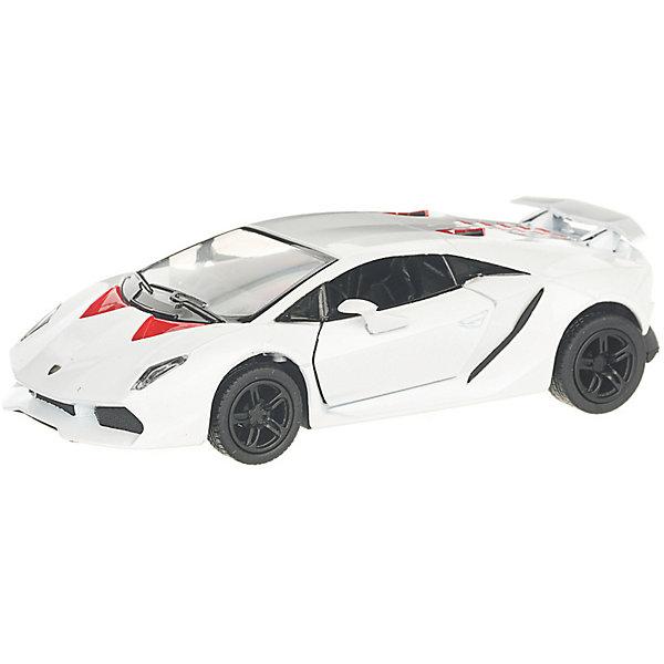 Serinity Toys Коллекционная машинка Lamborghini Sesto Elemento, белая