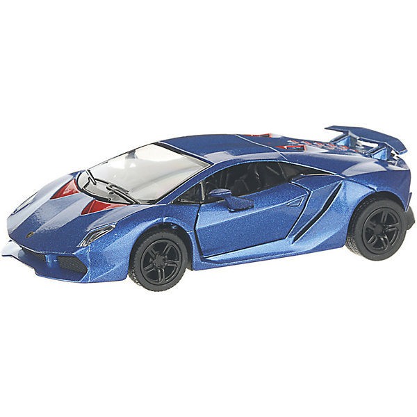 Serinity Toys Коллекционная машинка Lamborghini Sesto Elemento, синяя