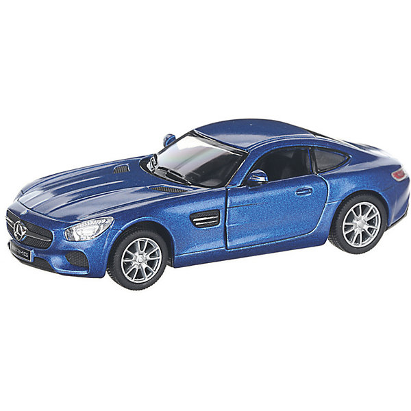 Купить Коллекционная машинка Serinity Toys Mercedes-AMG GT, синяя, Гонконг, Унисекс