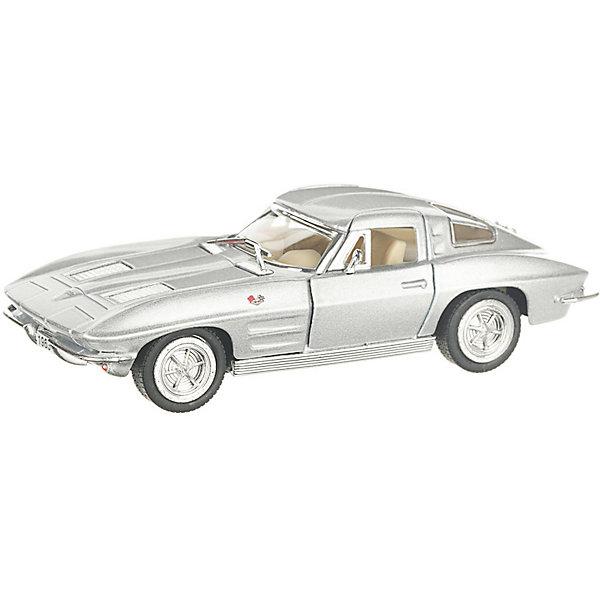 Фото - Serinity Toys Коллекционная машинка Serinity Toys 1963 Chevrolet Corvette Sting Ray, серебристая serinity toys коллекционная машинка serinity toys 1963 chevrolet corvette sting ray красная