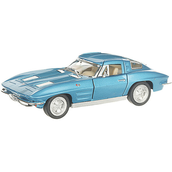Фото - Serinity Toys Коллекционная машинка Serinity Toys 1963 Chevrolet Corvette Sting Ray, голубая serinity toys коллекционная машинка serinity toys 1963 chevrolet corvette sting ray красная