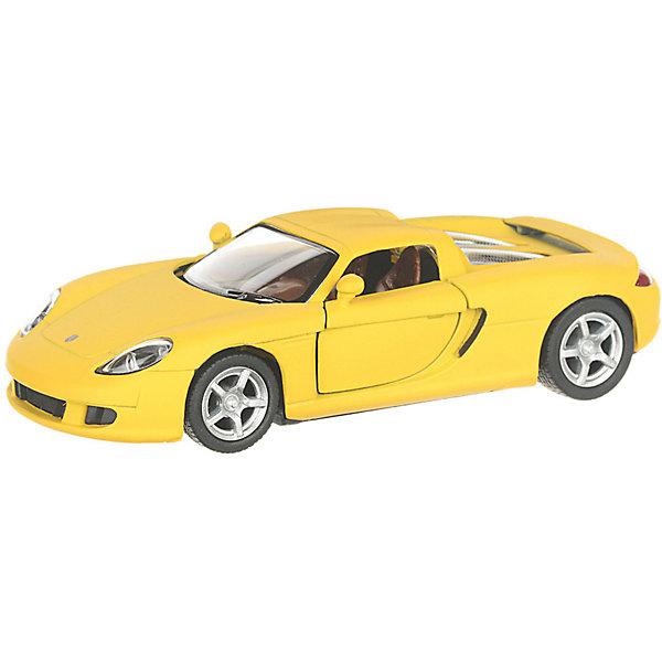 Serinity Toys Коллекционная машинка Porsche Cayman S, жёлтая