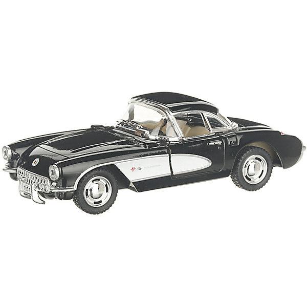 Фото - Serinity Toys Коллекционная машинка Serinity Toys Chevrolet Corvette, чёрная serinity toys коллекционная машинка serinity toys 1963 chevrolet corvette sting ray красная
