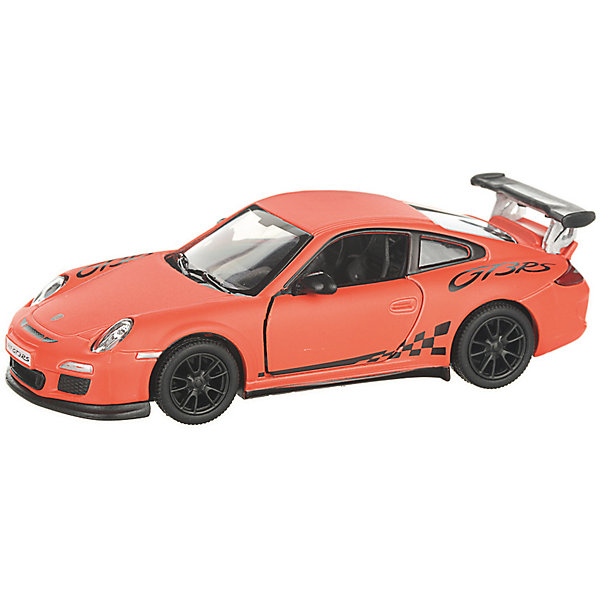 Serinity Toys Коллекционная машинка Serinity Toys Porsche GT3 RS, оранжевая serinity toys коллекционная машинка serinity toys 2010 porsche 911 gt3 rs полиция чёрно белая