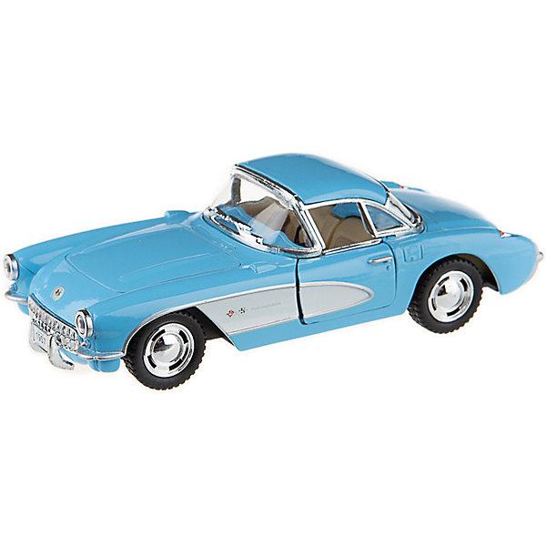Serinity Toys Коллекционная машинка Serinity Toys Chevrolet Corvette, голубая все цены