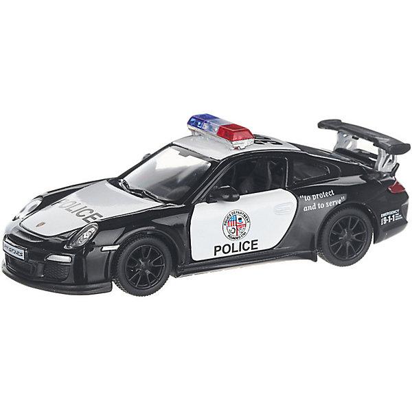 Serinity Toys Коллекционная машинка Serinity Toys 2010 Porsche 911 GT3 RS Полиция, чёрно-белая машинка на радиоуправлении yako toys toys джип пластмасса металл от 6 лет чёрно оранжевый