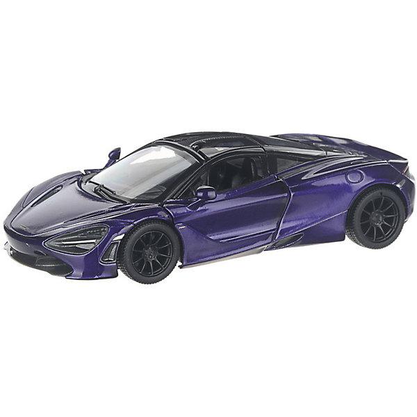 Фото - Serinity Toys Коллекционная машинка Serinity Toys McLaren 720S, тёмно-фиолетовая serinity toys коллекционная машинка serinity toys mclaren p1 синяя