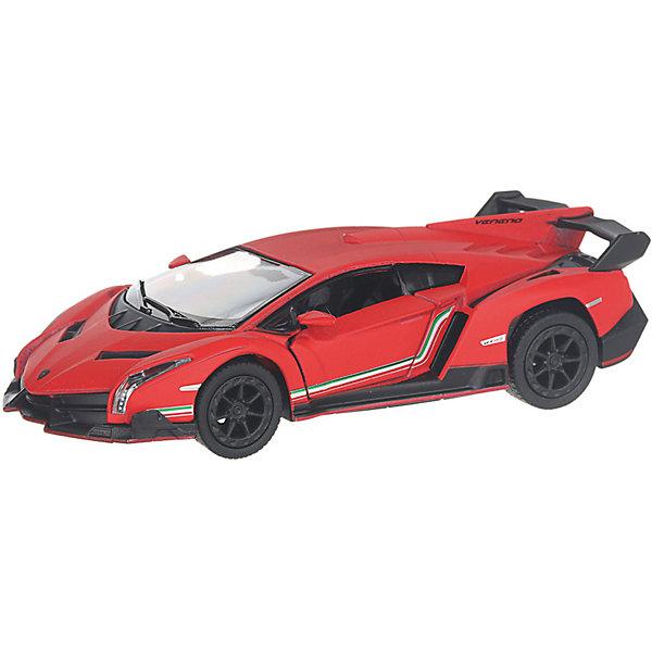 Serinity Toys Коллекционная машинка Lamborghini Veneno, бордовая