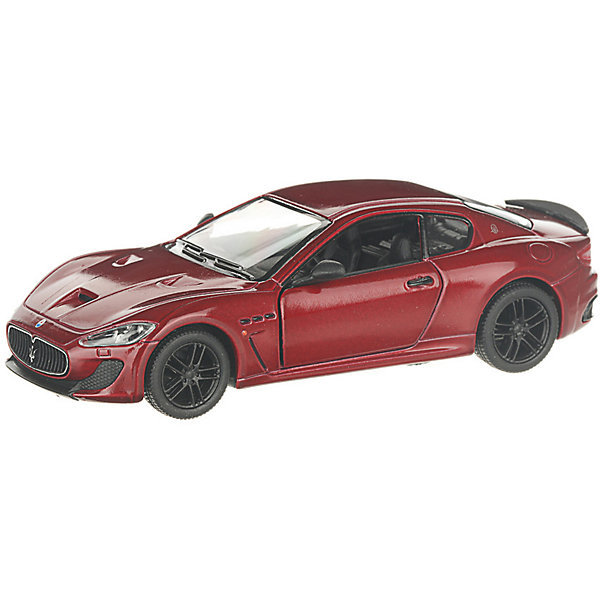 Serinity Toys Коллекционная машинка Serinity Toys 2016 Maserati GranTurismo, бордовая машины motormax машинка коллекционная 1 24 maserati gran turismo