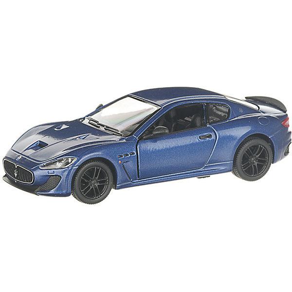 Serinity Toys Коллекционная машинка Serinity Toys 2016 Maserati GranTurismo, синяя машины motormax машинка коллекционная 1 24 maserati gran turismo