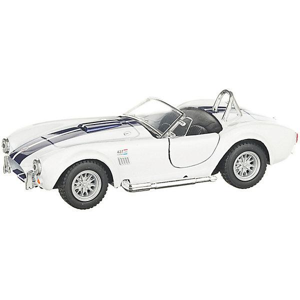 Serinity Toys Коллекционная машинка Serinity Toys Shelby Cobra 427, белая
