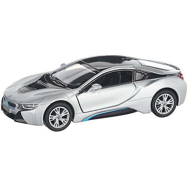 Serinity Toys Коллекционная машинка Serinity Toys BMW i8, серебристая