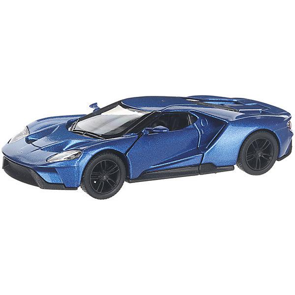 Купить Коллекционная машинка Serinity Toys 2017 Ford GT, синяя, Гонконг, Унисекс
