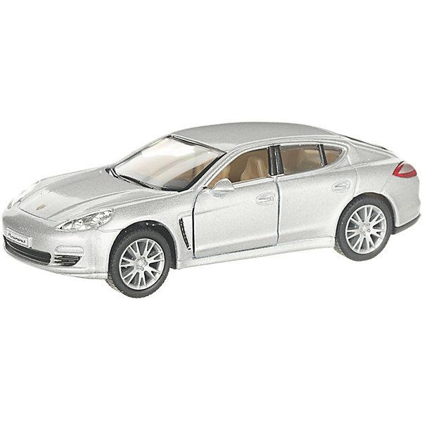 Serinity Toys Коллекционная машинка Porsche Panamera S, серебристая