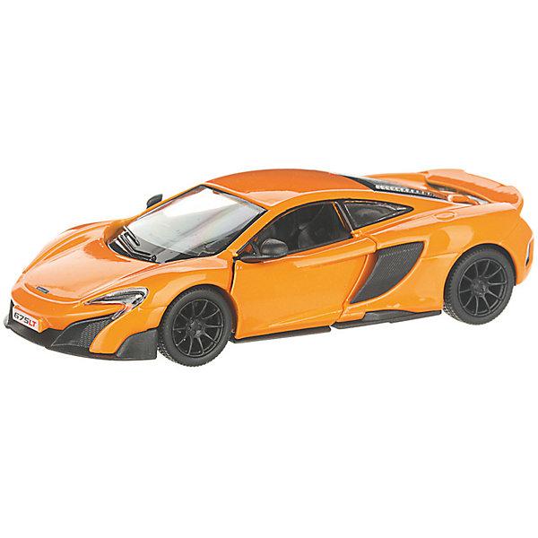 Фото - Serinity Toys Коллекционная машинка Serinity Toys McLaren 675LT, оранжевая serinity toys коллекционная машинка serinity toys mclaren p1 синяя
