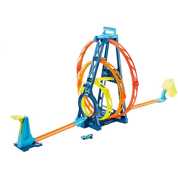 Mattel Конструктор трасс Hot Wheels Тройная петля автотрек mattel hot wheels конструктор трасс запуск ракеты flk60 page 9