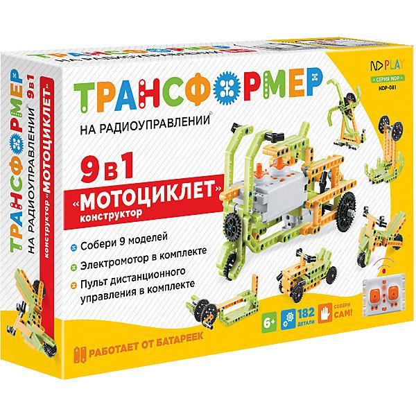 ND Play Набор для робототехники Трансформер Мотоциклет 9 в 1