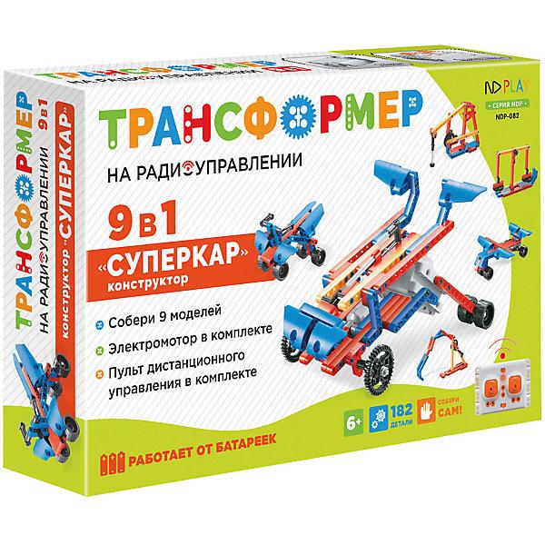 ND Play Набор для робототехники Трансформер Суперкар 9 в 1