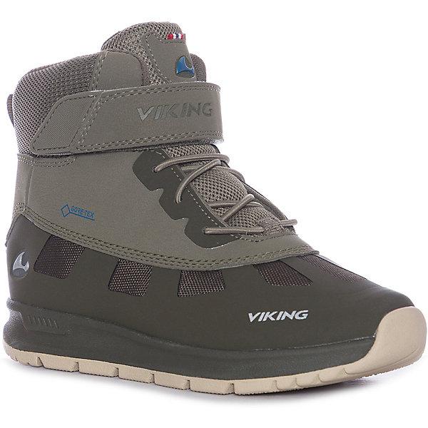 Купить Ботинки Viking Ted, Вьетнам, хаки, 38, 31, 33, 30, 34, 37, 36, 39, 32, 35, 40, Мужской
