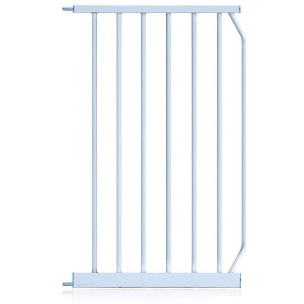 Baby Safe Расширитель для барьера-калитки Baby Safe, металл, 45 см, белый