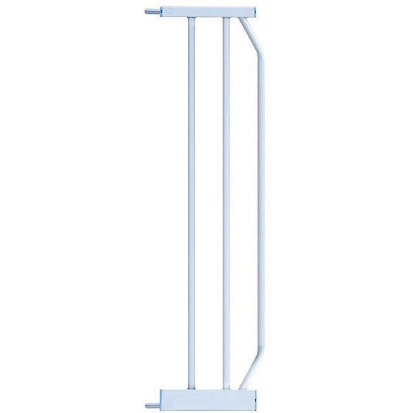 Baby Safe Расширитель для барьера-калитки Baby Safe, металл, 20 см, белый