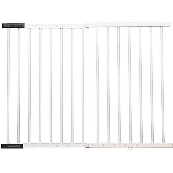 Baby Safe Барьер-калитка для дверного проема XY-004, 67-104 см, металл, белый