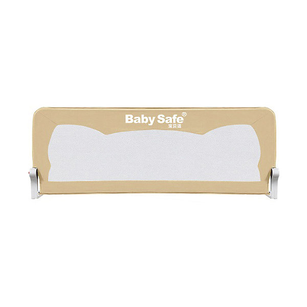 Baby Safe Барьер для кроватки Baby Safe Ушки, 150х42 см, бежевый baby safe барьер для кроватки baby safe 180х66 см бежевый