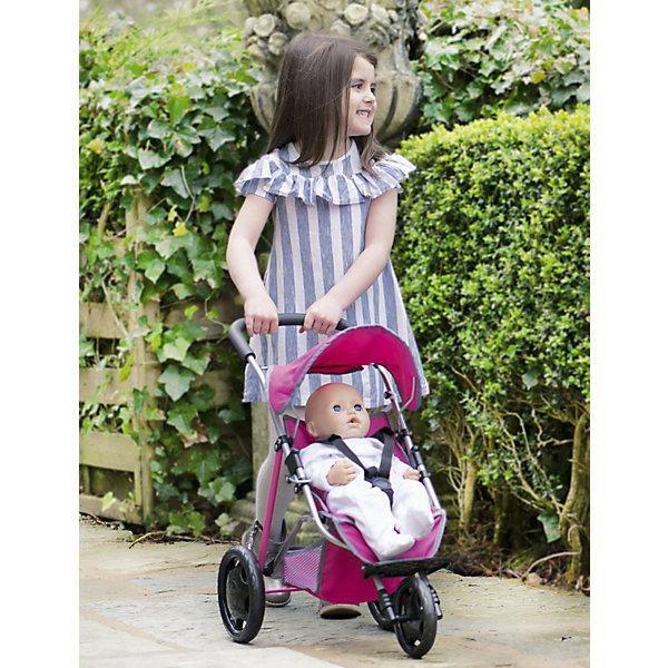 HTI Трехколесная коляска для кукол Chicco коляска трехколесная i likebaby babyboom