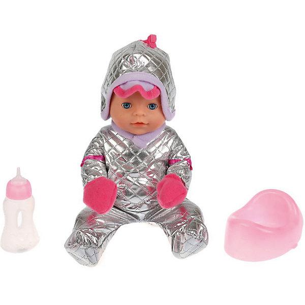 Карапуз Интерактивная кукла Сашенька