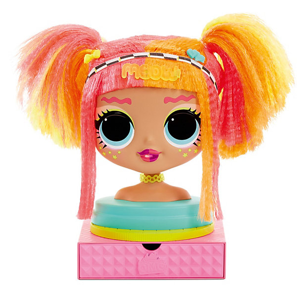 Купить Голова для моделирования причесок LOL Surprise! с аксессуарами, MGA, Китай, Женский