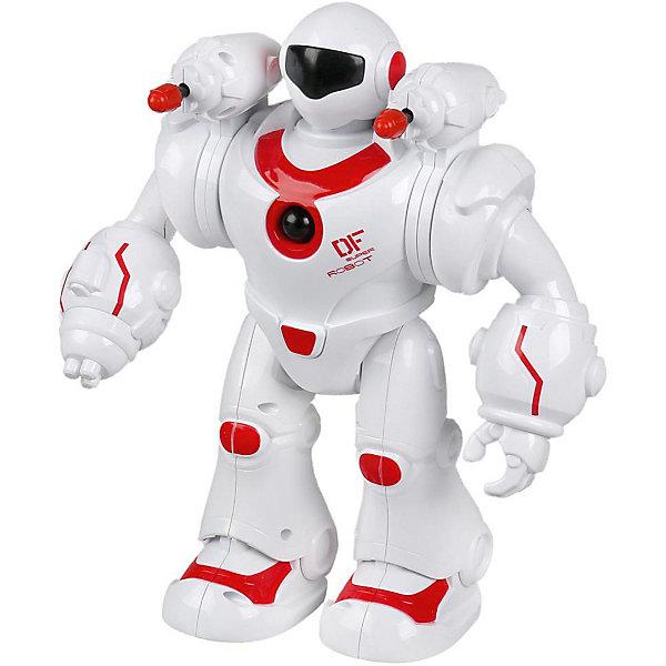 Технодрайв Интерактивный робот Технодрайв, бело-красный