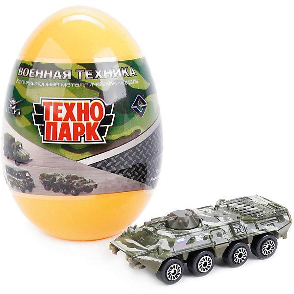 Машинка Технопарк Военные модели в яйце, 1:72