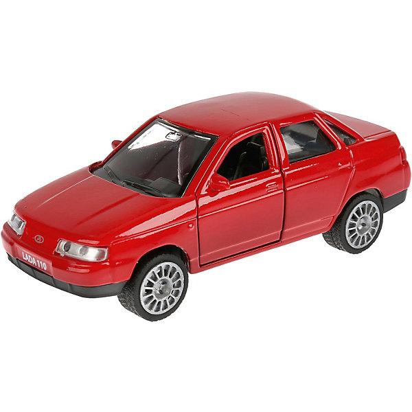 Фото - ТЕХНОПАРК Машинка Технопарк Lada 110 инерционная коробка рыжий кот 33х20х13см 8 5л д хранения обуви пластик с крышкой