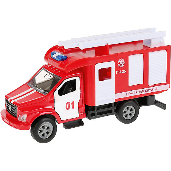 ТЕХНОПАРК Пожарная машинка Технопарк ГАЗ Газон Next