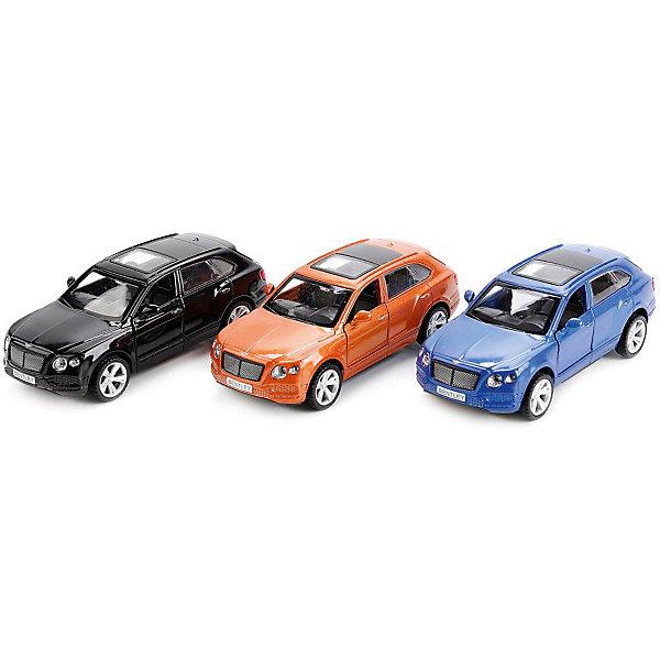 ТЕХНОПАРК Машинка Технопарк Bentley Bentayga, 1:45 каталка машинка r toys bentley пластик от 1 года музыкальная красный 326