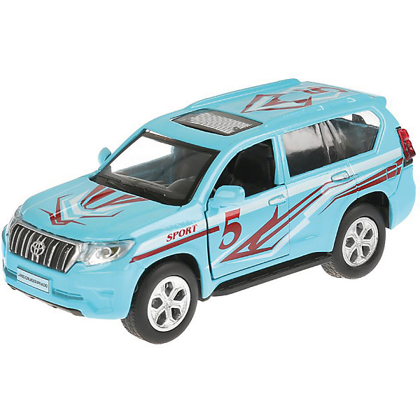 ТЕХНОПАРК Машинка Технопарк металлическая Toyota Prado Спорт технопарк машинка технопарк volkswagen polo спорт 12 см