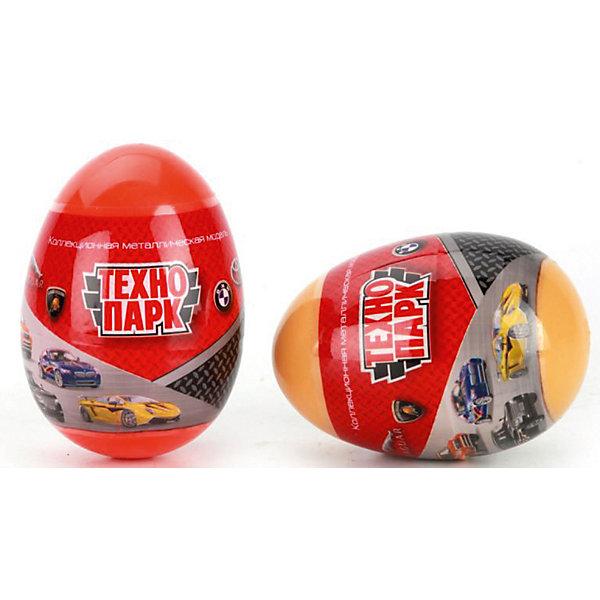 ТЕХНОПАРК Машинка Технопарк, в яйце