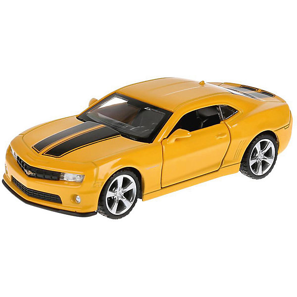 Фото - ТЕХНОПАРК Машинка Технопарк Chevrolet Camaro, 1:43 коробка рыжий кот 33х20х13см 8 5л д хранения обуви пластик с крышкой
