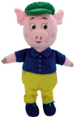 Мульти-Пульти Мягкая игрушка Мульти-пульти Поросенок в костюме и кепке мягкая игрушка поросенок тошка 8 см