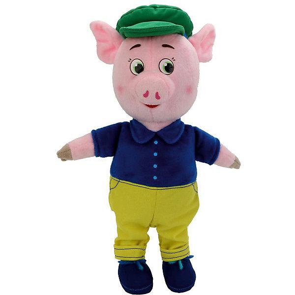 Картинка для Мульти-Пульти Мягкая игрушка Мульти-пульти Поросенок в костюме и кепке