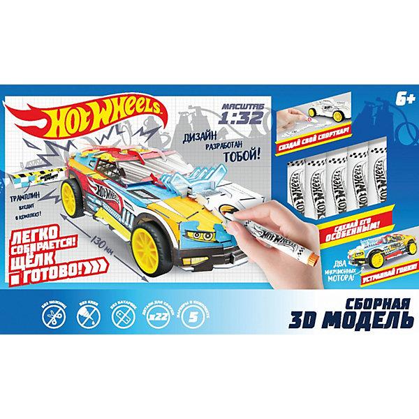1Toy Сборная модель 1Toy Hot Wheels, 22 детали